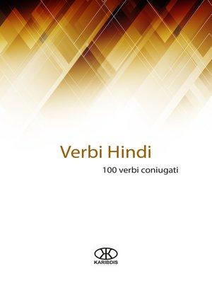 cover image of Verbi hindi (100 verbi coniugati)