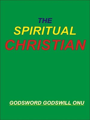 cover image of The Spiritual Christian