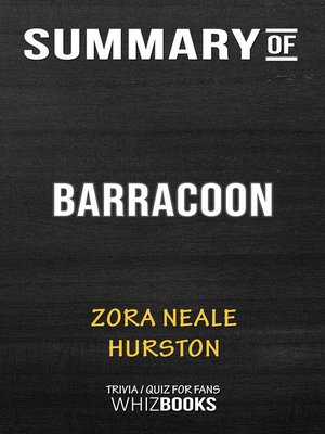 cover image of Summary of Barracoon