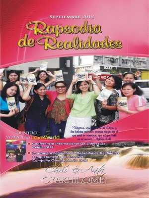 cover image of Rhapsody of Realities September 2012 Spanish Edition