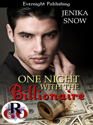 cover image of One Night with the Billionaire
