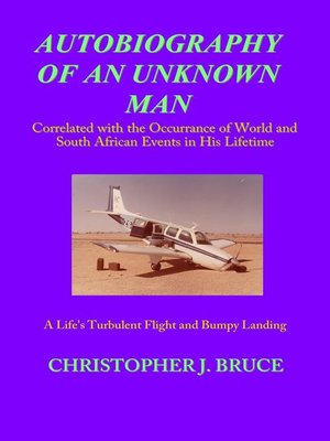 cover image of Autobiography of an Unknown Man