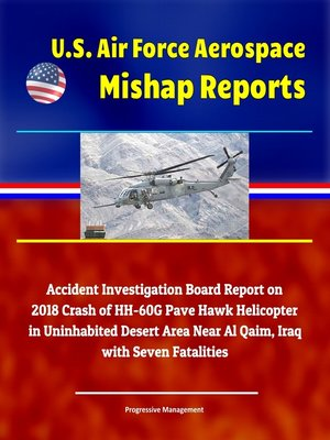 cover image of U.S. Air Force Aerospace Mishap Reports