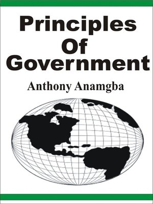 cover image of Principles of Government