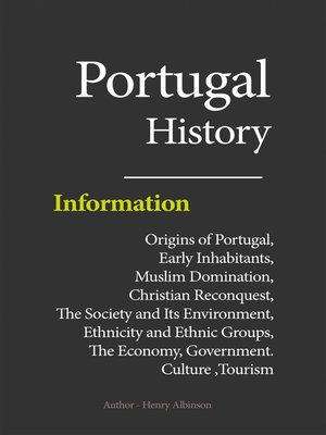 cover image of Portugal History