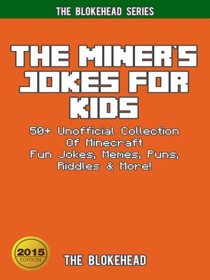 cover image of The Miner's Jokes For Kids