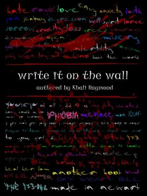 cover image of Write It on the Wall