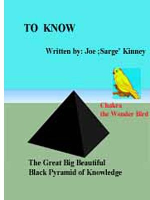 "cover image of ""To Know"""