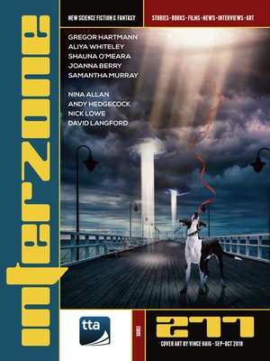 cover image of Interzone #277 (September-October 2018)
