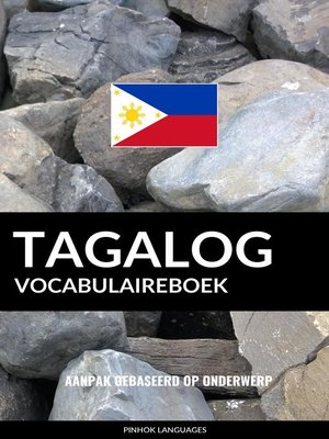cover image of Tagalog vocabulaireboek
