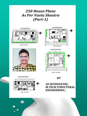 cover image of 250 House Plans As Per Vastu Shastra (Part-1)