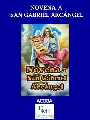 cover image of Novena a San Gabriel Arcángel