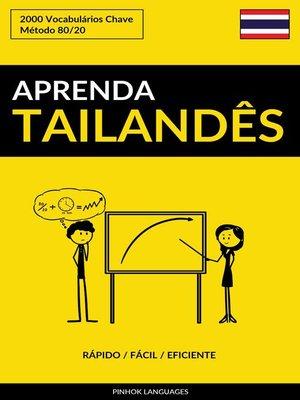 cover image of Aprenda Tailandês