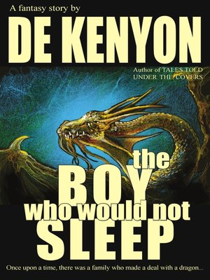 cover image of The Boy Who Would Not Sleep