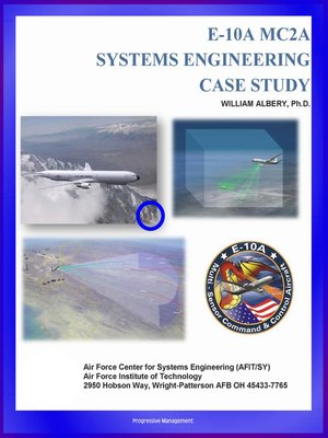 cover image of E-10A MC2A Systems Engineering Case Study