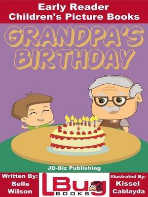 cover image of Grandpa's Birthday