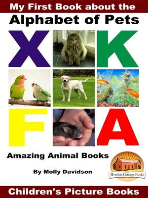 cover image of My First Book about the Alphabet of Pets