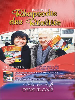cover image of Rhapsody of Realities June 2012 French Edition