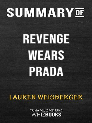 cover image of Summary of Revenge Wears Prada
