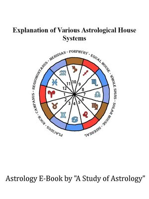 cover image of Explanation of Various House Systems