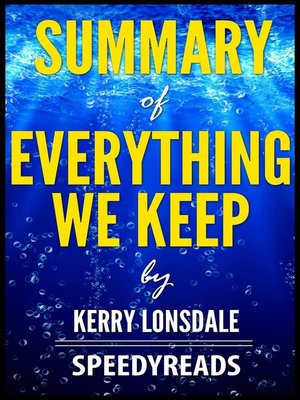 cover image of Summary of Everything We Keep by Kerry Lonsdale