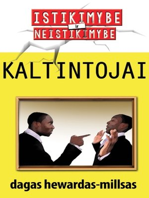 cover image of Kaltintojai