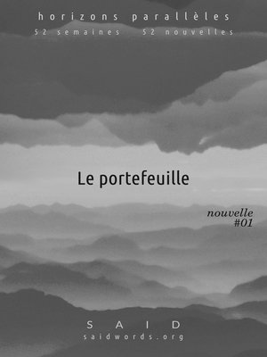 cover image of Le portefeuille