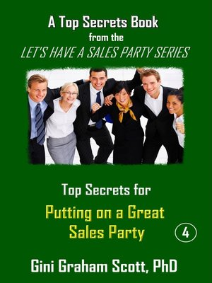 cover image of Top Secrets for Putting on a Great Party