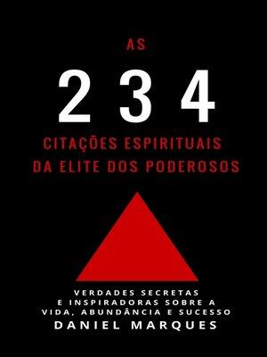 cover image of As 234 Citações Espirituais da Elite dos Poderosos