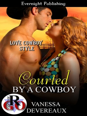 cover image of Courted by a Cowboy