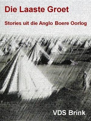 cover image of Die laaste groet