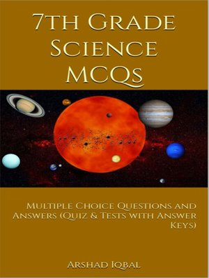 cover image of 7th Grade Science MCQs