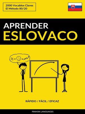 cover image of Aprender Eslovaco
