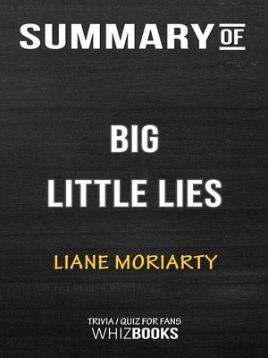 cover image of Summary of Big Little Lies