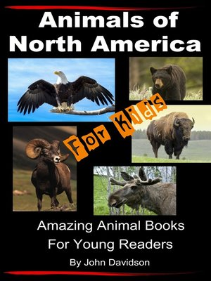 cover image of Animals of North America For Kids