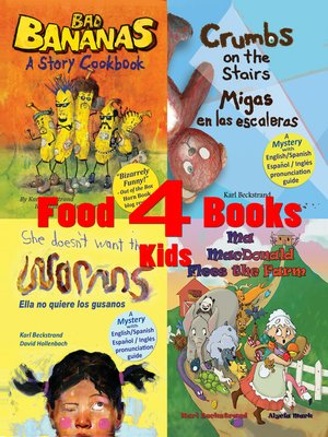 cover image of 4 Food Books for Kids
