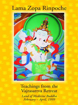 cover image of Teachings from the Vajrasattva Retreat