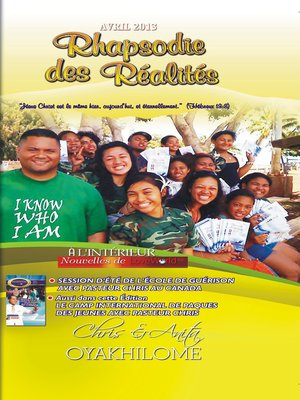 cover image of Rhapsody of Realities April 2013 French Edition