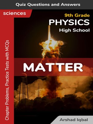 cover image of Matter Multiple Choice Questions and Answers (MCQs)