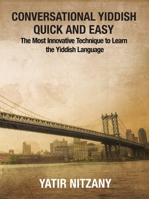 cover image of Conversational Yiddish Quick and Easy