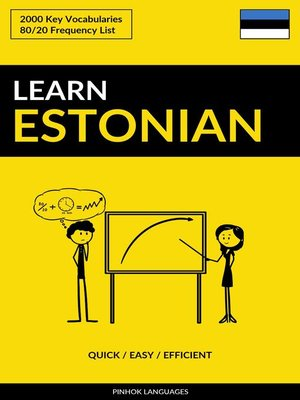 cover image of Learn Estonian