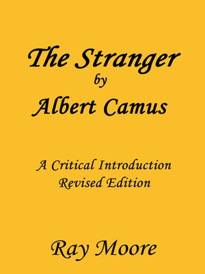 cover image of The Stranger by Albert Camus