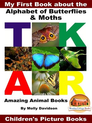 cover image of My First Book about the Alphabet of Butterflies & Moths