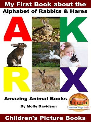 cover image of My First Book about the Alphabet of Rabbits & Hares