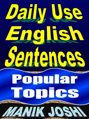 cover image of Daily Use English Sentences