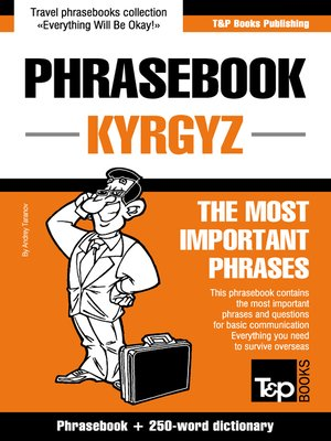 cover image of Phrasebook Kyrgyz