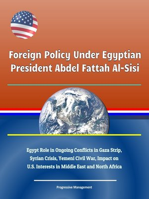 cover image of Foreign Policy Under Egyptian President Abdel Fattah Al-Sisi