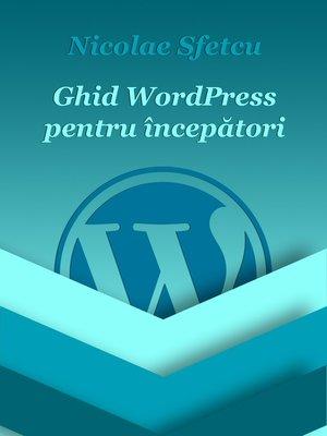 cover image of Ghid WordPress pentru începători