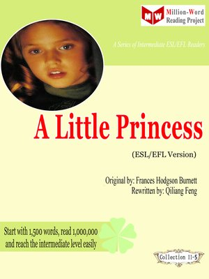 cover image of A Little Princess (ESL/EFL Version)