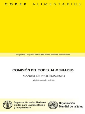 cover image of Comisión del Codex Alimentarius